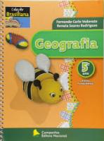 GEOGRAFIA - 5 ANO  ALUNO - COL. BRASILIANA - 1