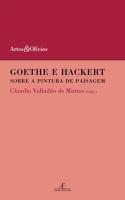 GOETHE E HACKERT - SOBRE A PINTURA DE PAISAGEM - 1