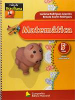 MATEMATICA 5 ANO - COL. BRASILIANA - 1