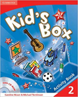 KIDS BOX LEVEL 2 ACTIVITY BOOK WITH CD-ROM - 1ª