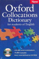 OXFORD COLLOCATIONS DICTIONARY FOR STUDENTS OF ENGLISH WITH CD-ROM - N/E