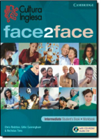 FACE2FACE INTERMEDIATE STUDENT BOOK WORKBOOK - CULTURA INGLESA - 1ª