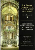 BIBLIA COMENTADA PADRES DE LA IGLESIA - NT. VOL. 09