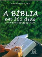 BÍBLIA EM 365 DIAS - GUIA PRÁTICO DE LEITURA