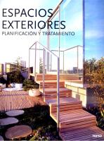 ESPACIOS EXTERIORES - PLANIFICACION Y TRATAMIENTO