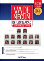 VADE MECUM DE LEGISLAÇAO - CONCURSOS E OAB