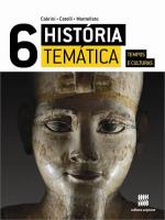 HISTÓRIA TEMÁTICA TEMPOS E CULTURAS - 6º Ano