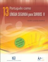 PORTUGUÊS COMO LÍNGUA SEGUNDA PARA SURDOS II ( INCLUI DVD )