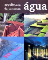 AGUA - ARQUITETURA DA PAISAGEM