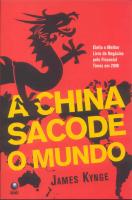 CHINA SACAODE O MUNDO,A