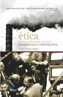 ETICA, RESPONSABILIDADE SOCIAL E GOVERNANCA CORPORATIVA