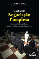 MANUAL DE NEGOCIAÇÃO COMPLEXA
