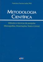 METODOLOGIA CIENTIFICA - METODOS E TECNICAS DE PESQUISA
