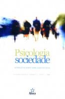 PSICOLOGIA SOCIEDADE - INTERFACES NO DEBATE SOBRE A QUESTAO SOCIAL