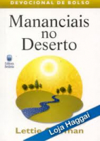 MANANCIAIS NO DESERTO - VOLUME 1: DEVOCIONAL DE BOLSO