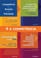 COLEÇÃO 4X COMPETÊNCIA