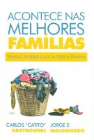 ACONTECE NAS MELHORES FAMÍLIAS - FAMÍLIAS DA BÍBLIA A LUZ DA TERAPIA FAMILIAR