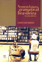 NOMENCLATURA GRAMATICAL BRASILEIRA