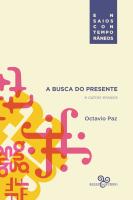 BUSCA DO PRESENTE E OUTROS ENSAIOS, A