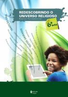 REDESCOBRINDO O UNIVERSO RELIGIOSO - 6O. ANO ESTUDANTE