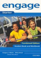 ENGAGE STARTER STUDENT BOOK AND WORKBOOK WITH CD-ROM COMBINED EDITION