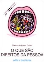 QUE SAO DIREITOS DA PESSOA, O - PRIMEIROS PASSOS - 1
