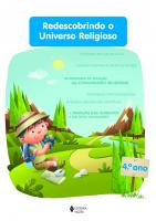 REDESCOBRINDO O UNIVERSO RELIGIOSO - 4O. ANO ESTUDANTE