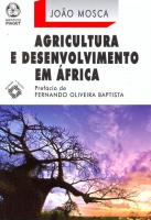 AGRICULTURA E DESENVOLVIMENTO EM AFRICA