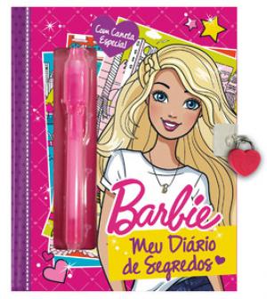 BARBIE - MEU DIÁRIO DE SEGREDOS - COM CANETA ESPECIAL