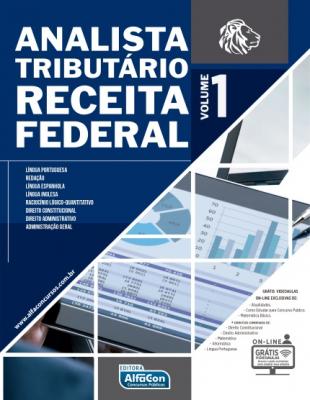 ANALISTA TRIBUTÁRIO DA RECEITA FEDERAL - VOL. 1