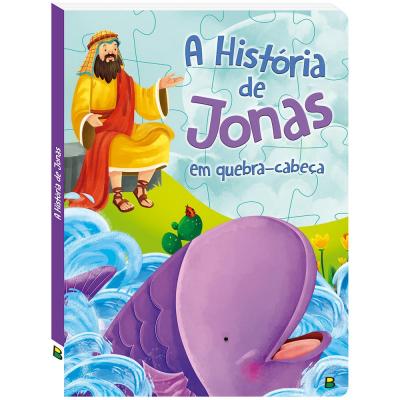 AVENTURAS BÍBLICAS EM QUEBRA-CABEÇAS: A HISTÓRIA DE JONAS