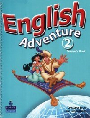 ENGLISH ADVENTURE 2 - TEACHER BOOK/ ACTIVITY BOOK WITH CD AUDIO - VERSAO IN - 1ª