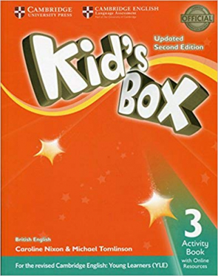 KIDS BOX 3 AB WITH ONLINE RESOURCES - BRITISH - UPDATED 2ND ED
