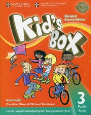 KIDS BOX 3 PB - BRITISH - UPDATED 2ND ED