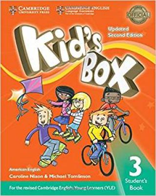 KIDS BOX AMERICAN ENGLISH 3 SB - UPDATED 2ND ED
