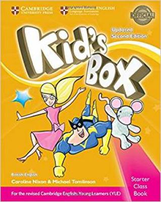 KIDS BOX STARTER CB WITH CD-ROM - BRITISH - UPDATED 2ND ED
