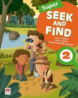 SUPER SEEK AND FIND 2 STUDENT´S BOOK AND DIGITAL PACK