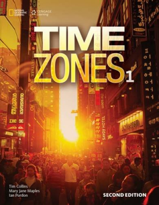 TIME ZONES 1 SB WITH ONLINE WB - 2ND ED