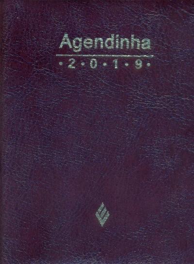 AGENDA SIMPLES 2019 - MARROM