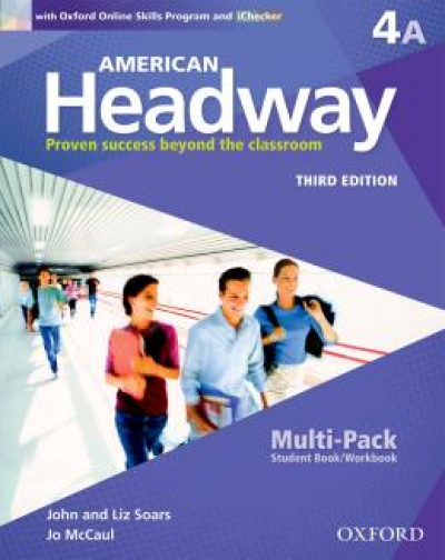 AMERICAN HEADWAY 4A SB MULTIPACK WITH ONLINE SKILLS - 3RD ED