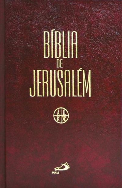 BÍBLIA DE JERUSALÉM - MÉDIA ENCADERNADA