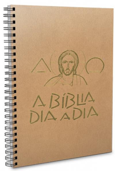 BÍBLIA DIA A DIA 2019 - WIRE O - BEGE