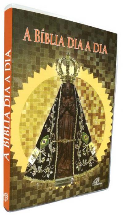 BÍBLIA DIA A DIA 2020 - CAPA CRISTAL - NOSSA SENHORA APARECIDA
