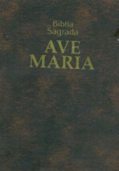 BÍBLIA SAGRADA AM - BOLSO ZÍPER - MARROM