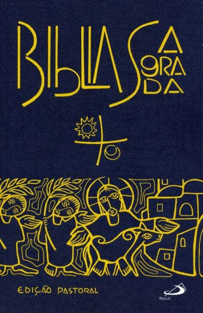 BÍBLIA SAGRADA - EDIÇÃO PASTORAL - BOLSO ENCADERNADA