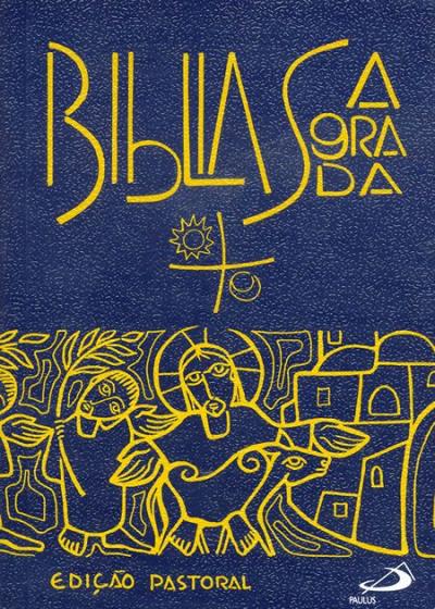 BÍBLIA SAGRADA - EDIÇÃO PASTORAL - BOLSO ZÍPER