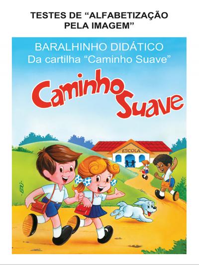 BARALHINHO DIDÁTICO DA CARTILHA CAMINHO SUAVE