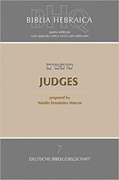 BIBLIA HEBRAICA QUINTA 7 - JUDGES