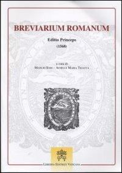 BREVIARIUM ROMANUM - EDITIO PRINCEPS 1568