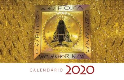 CALÉNDARIO DE PAREDE 2020 - SANTUÁRIO NACIONAL